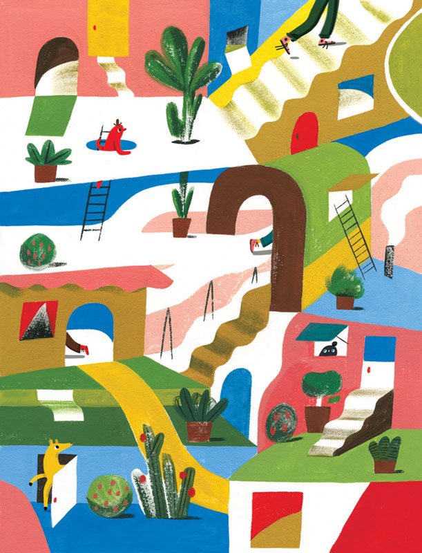 Whimsical Illustrations by Ping Zhu: lores-sorting-final-edit.jpg