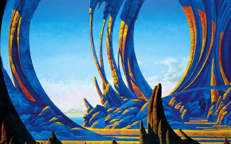 Roger Dean's Science Fiction Landscapes: Roger-Dean11.jpg