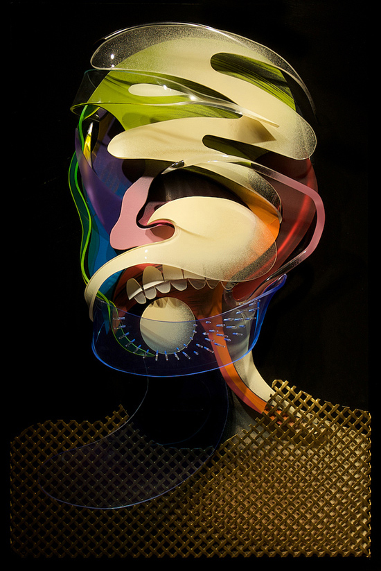 Dimensional Painting and Sculpture by Adam Neate: adam-neate-01.jpg