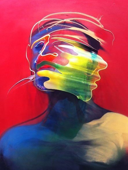 Dimensional Painting and Sculpture by Adam Neate: adam-neate-03.jpg
