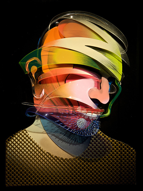 Dimensional Painting and Sculpture by Adam Neate: adam-neate-05.jpg
