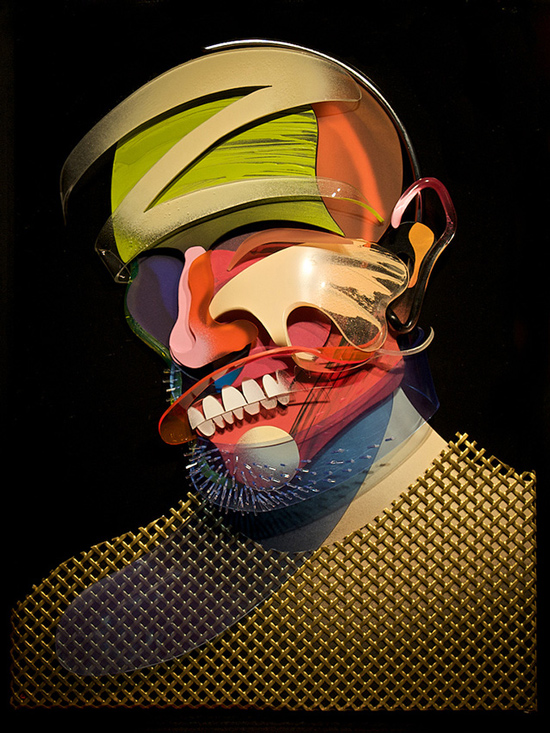 Dimensional Painting and Sculpture by Adam Neate: adam-neate-06.jpg