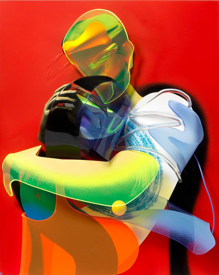 Dimensional Painting and Sculpture by Adam Neate: adam-neate-07_905.jpg