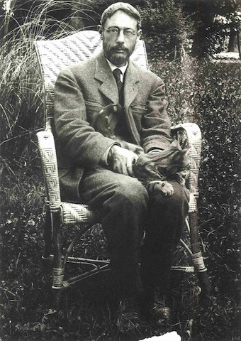 Famous Artists and Their Cats: bonnard.jpg