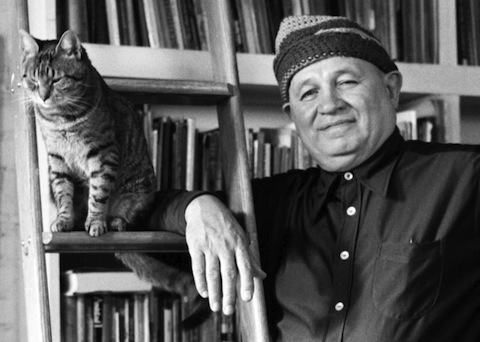 Famous Artists and Their Cats: gippo.jpg