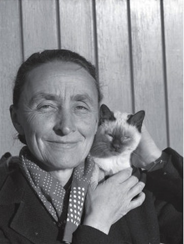 Famous Artists and Their Cats: gk.jpg