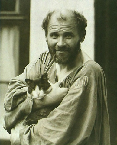 Famous Artists and Their Cats: katze.jpg