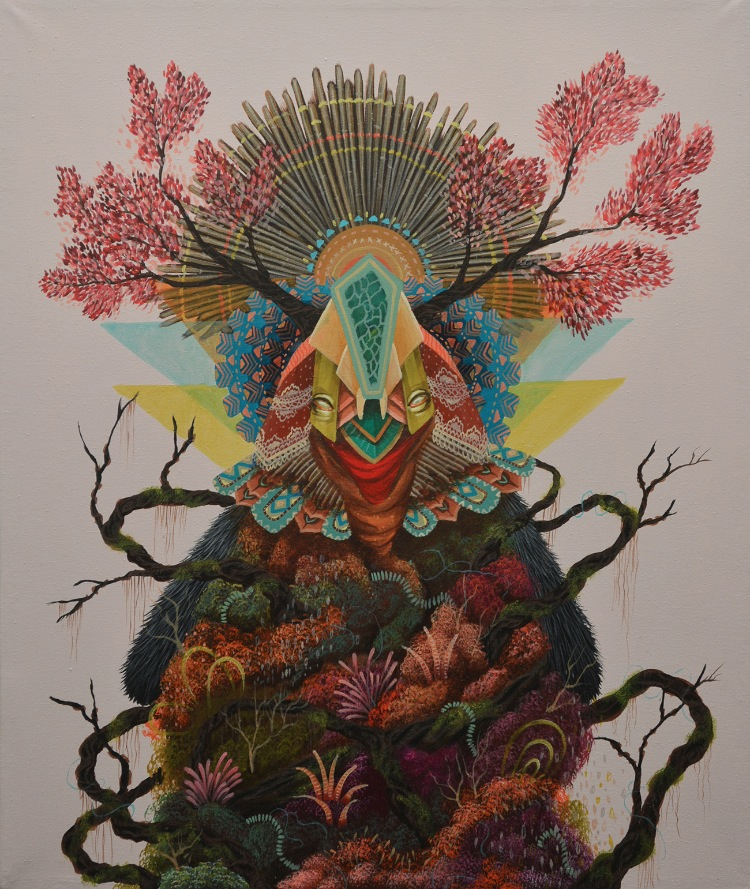 """Vanguard"" Group Show @ Thinkspace Gallery, Culver City: Curiot_Rebirth.jpg"