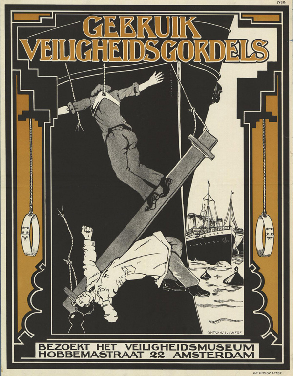 Vintage Safety Posters from the Netherlands: 1925-1949-W.J. v.d.Werf.jpg