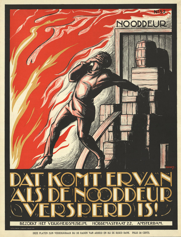 Vintage Safety Posters from the Netherlands: 1926-1927-Albert-Hahn.jpg
