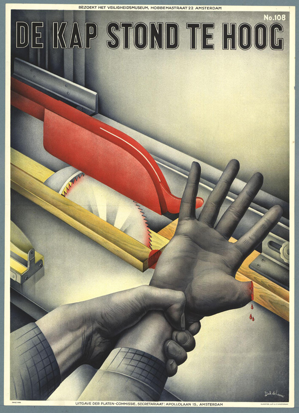 Vintage Safety Posters from the Netherlands: 1940-Drik-de-Leeuw.jpg