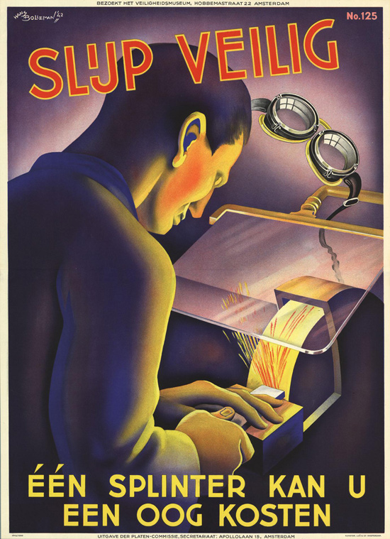 Vintage Safety Posters from the Netherlands: 1942-Hans-Bolleman2.jpg