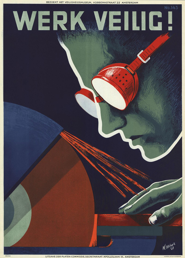 Vintage Safety Posters from the Netherlands: 1950-N-Olthuis.jpg