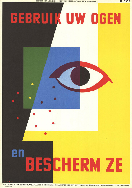 Vintage Safety Posters from the Netherlands: 1959-T.T.Kwee.jpg