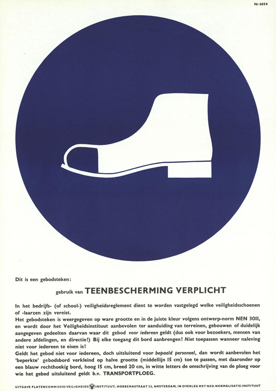 Vintage Safety Posters from the Netherlands: 1960.jpg