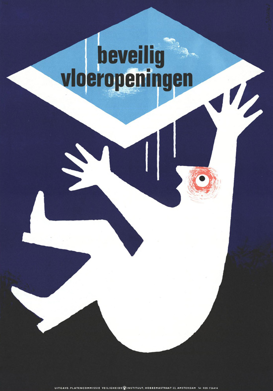 Vintage Safety Posters from the Netherlands: 1973-Frans-Mettes.jpg
