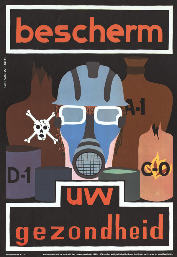 Vintage Safety Posters from the Netherlands: 1977-Ron-van-Weerdt.jpg