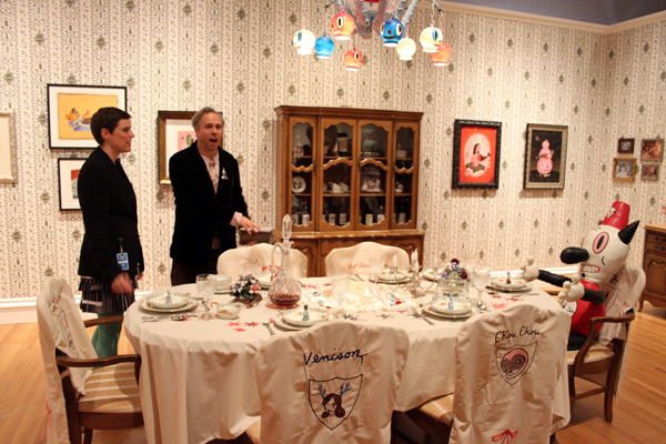 In L.A.: Gary Baseman @ Skirball Cultural Center: baseman_4803.jpg