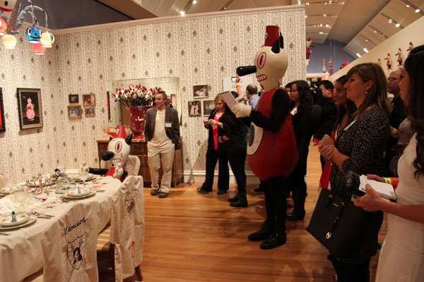 In L.A.: Gary Baseman @ Skirball Cultural Center: baseman_4808.jpg