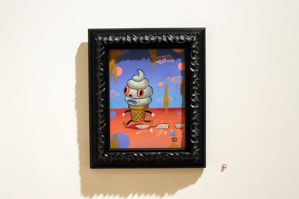 In L.A.: Gary Baseman @ Skirball Cultural Center: baseman_4810.jpg