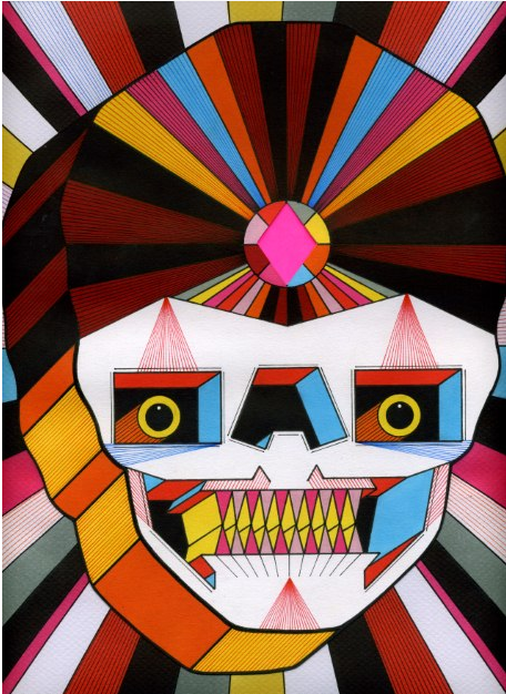 Psychedelic Robot Skulls by David M. Cook: dcook1.png