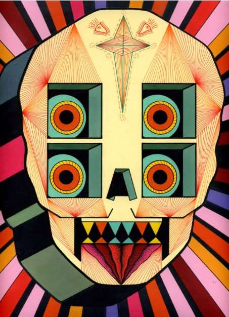 Psychedelic Robot Skulls by David M. Cook: dmcook2.png