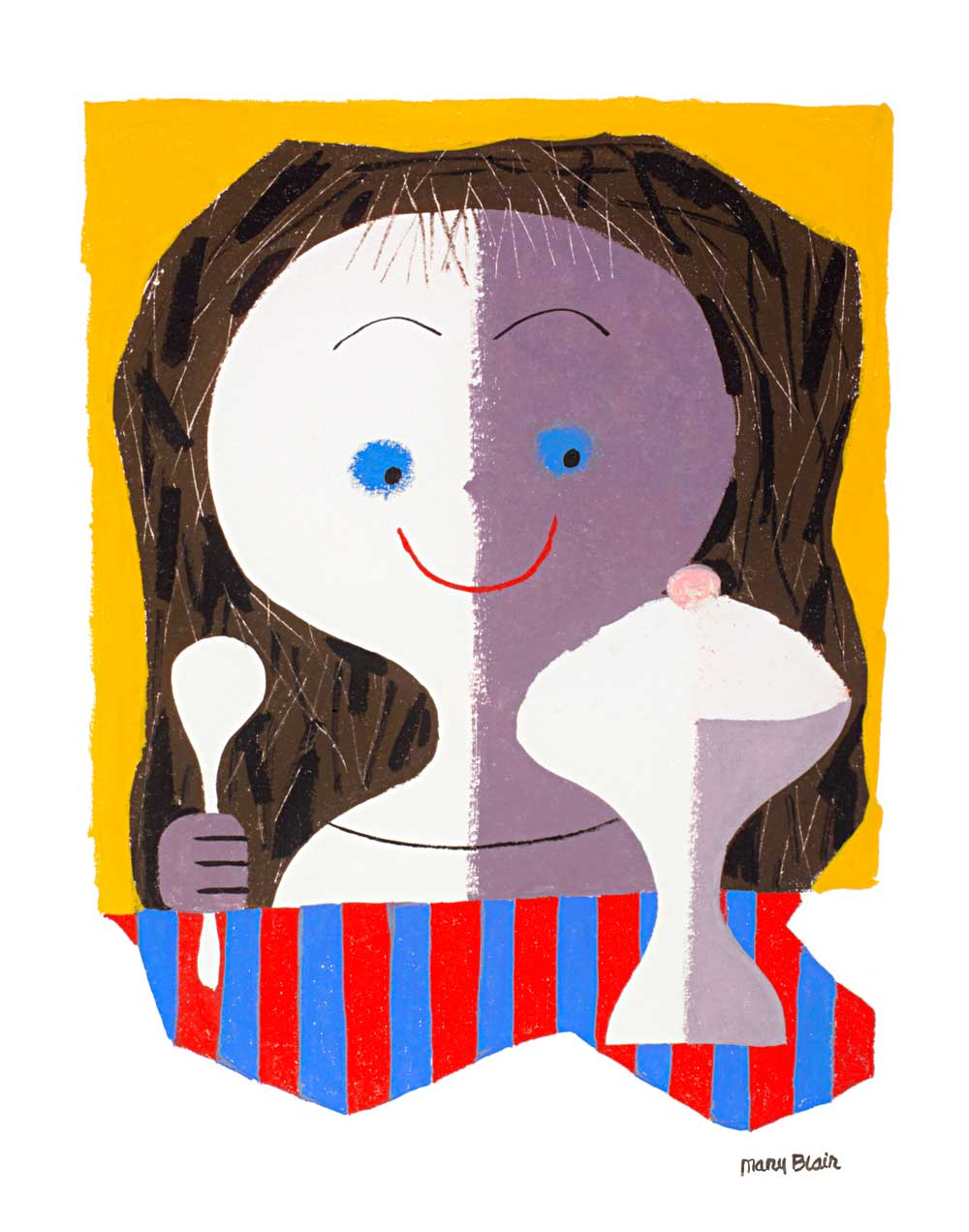 Cathie Bleck on Disney's Legendary Artist Mary Blair: Ice-Cream-Gir.jpg