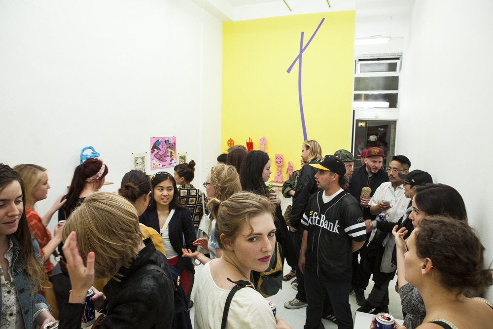 Opening: Mark Mulroney at Ever Gold, SF: 1.jpg