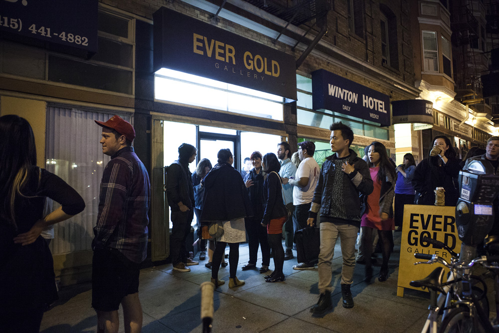 Opening: Mark Mulroney at Ever Gold, SF: 3.jpg