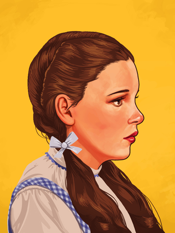 Badass Movie Portraits by Mike Mitchell: 22_dorothy-60.jpg