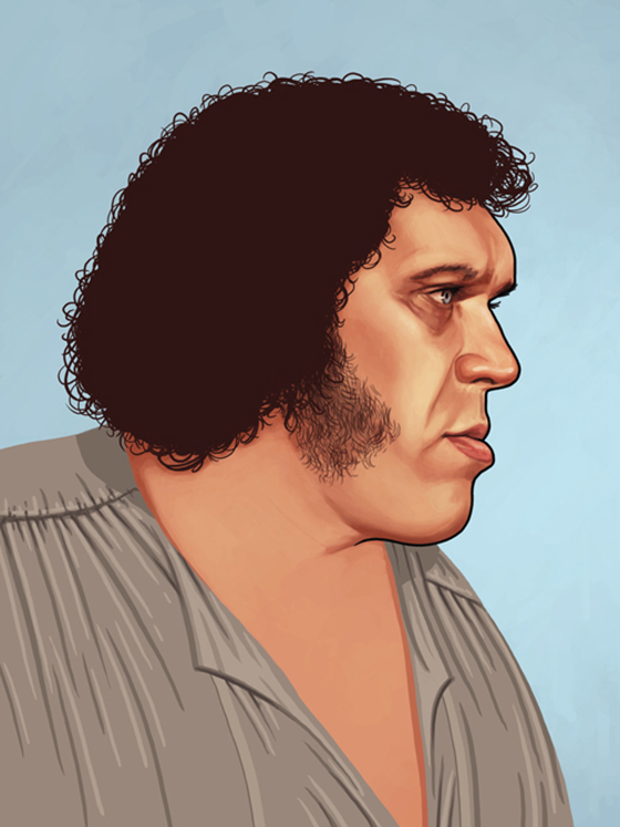 Badass Movie Portraits by Mike Mitchell: 22_fezzik.jpg