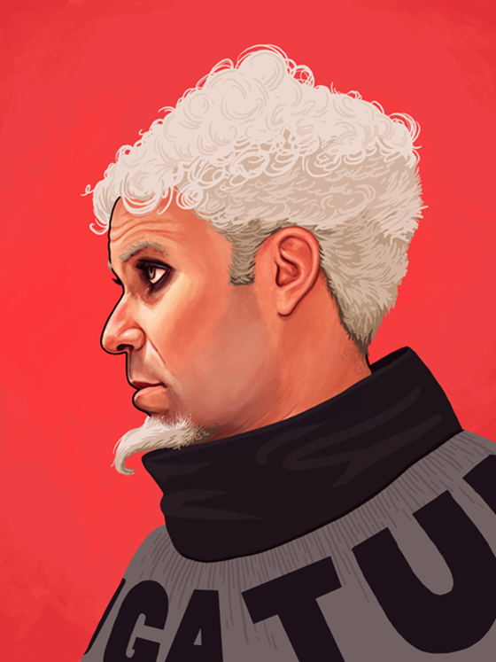 Badass Movie Portraits by Mike Mitchell: 22_mugatu-70.jpg