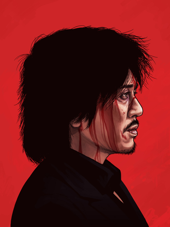 Badass Movie Portraits by Mike Mitchell: 22_oldboy-70.jpg
