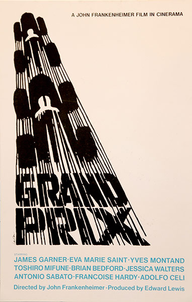 Appreciating: Saul Bass and the Movies: Grand-Prix-poster-005.jpg