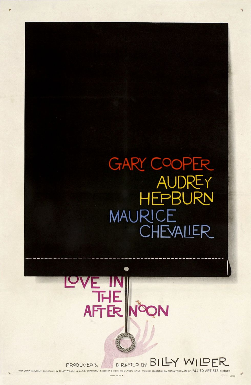 Appreciating: Saul Bass and the Movies: Love_in_the_afternoon_(1957)_-_movie_poster.jpg