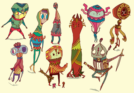 Daniel 'Aphte' Abensour's Creature Worlds: characters_900.jpg