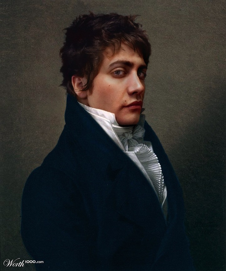 Celebrities Re-imagined in Classic Paintings: worth1000modernrenassaince7.jpg