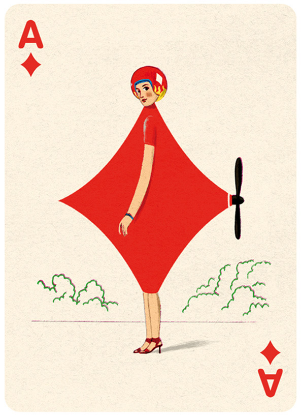 Illustrated Deck of Cards by Jonathan Burton: Ace-diamonds_3.jpg