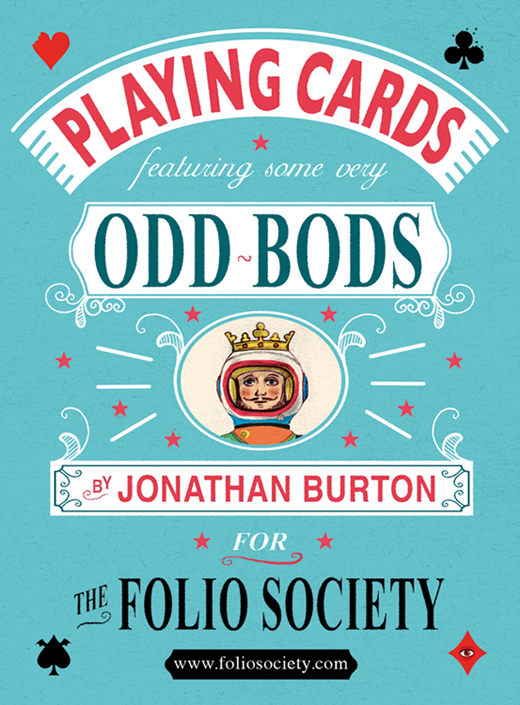 Illustrated Deck of Cards by Jonathan Burton: Box Front_2.jpg