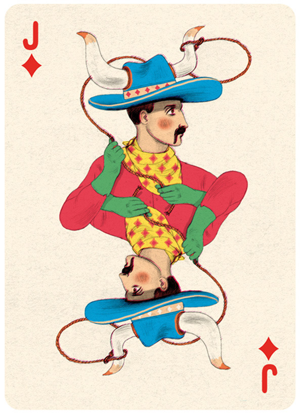 Illustrated Deck of Cards by Jonathan Burton: Jack-diamonds_4.jpg