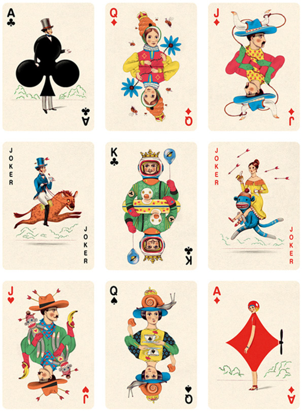 Illustrated Deck of Cards by Jonathan Burton: Playing-Cards_1.jpg