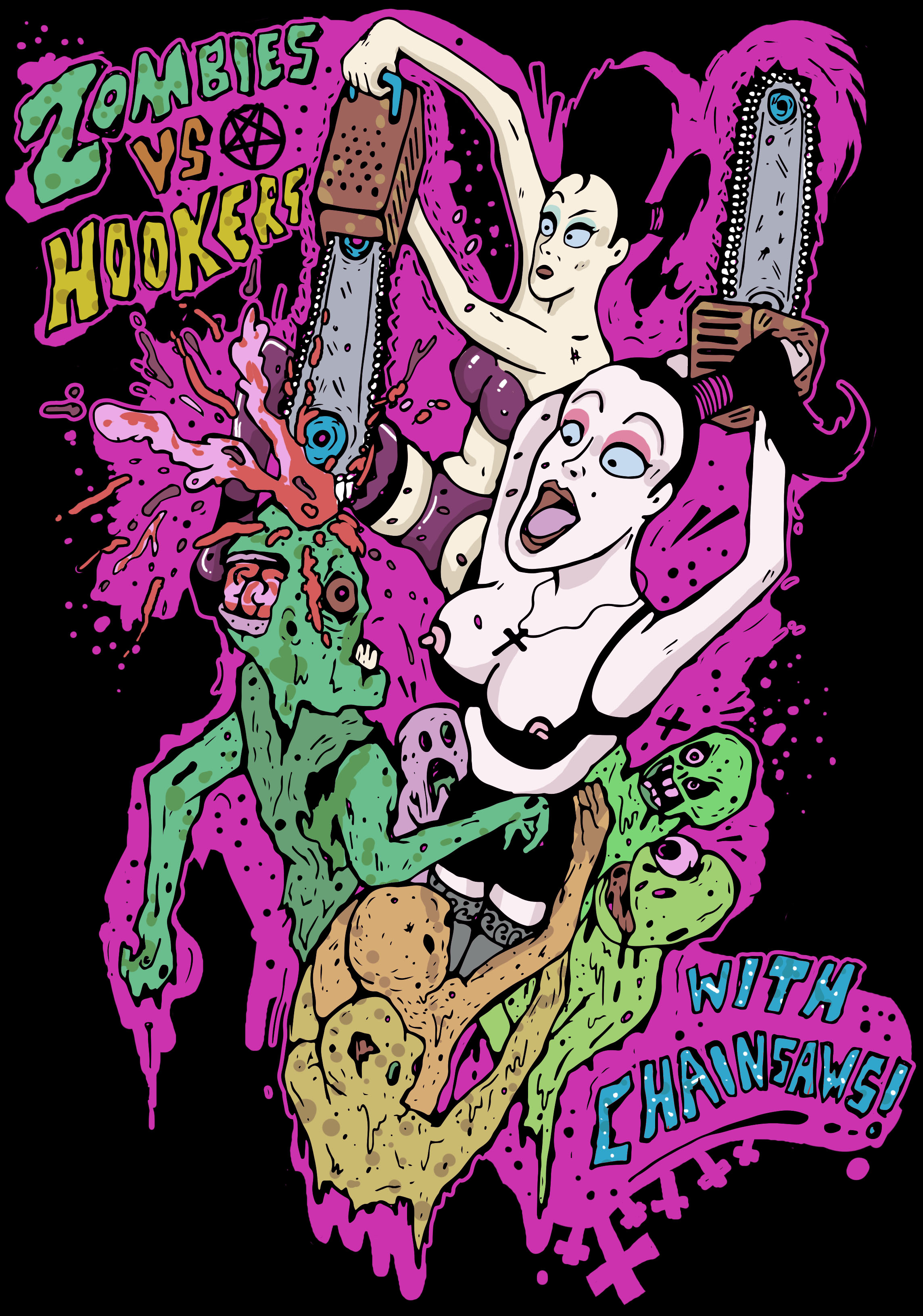 Illustrations by Mike Hughes: hookers.jpg