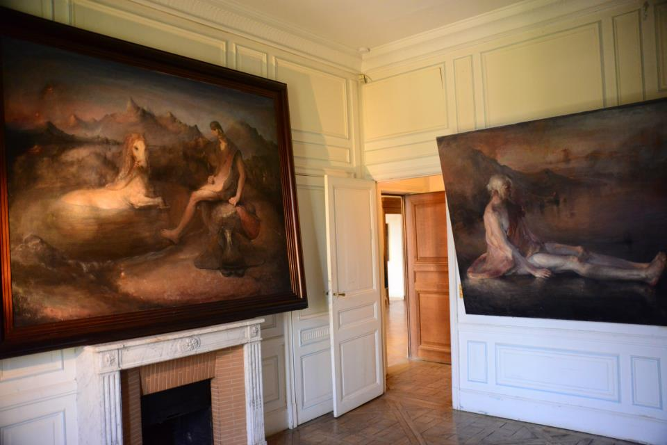 Odd Nerdrum Open House, Maisons-Laffitte, France: 2nd bedroom.jpg
