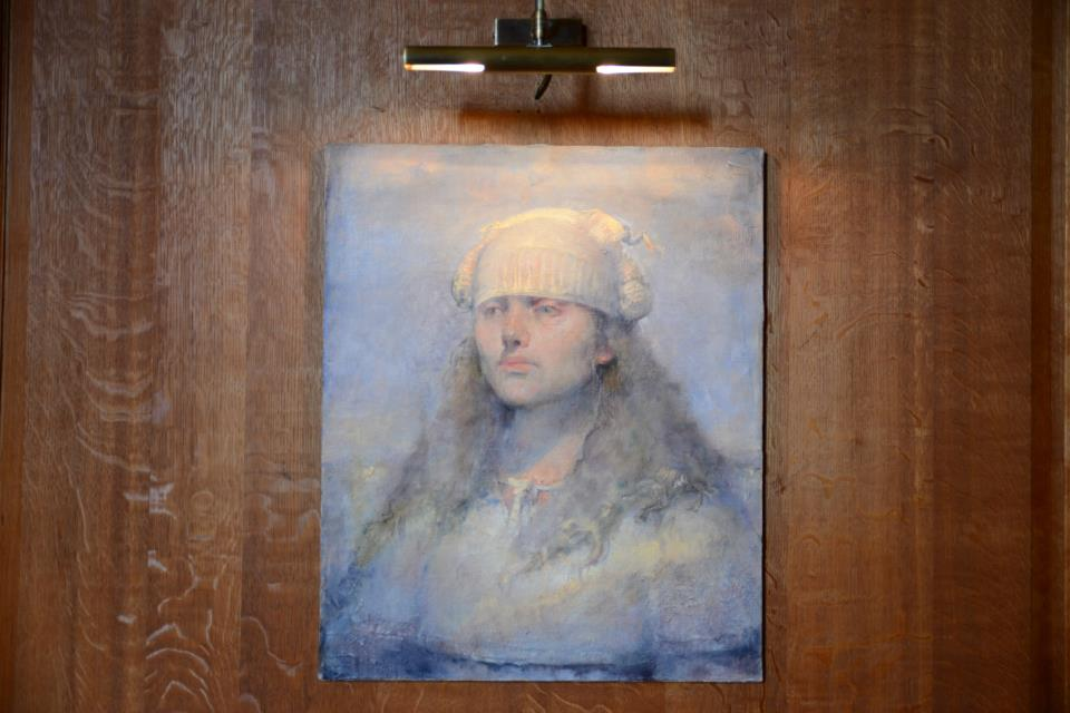 Odd Nerdrum Open House, Maisons-Laffitte, France: Portrait of Maria.jpg
