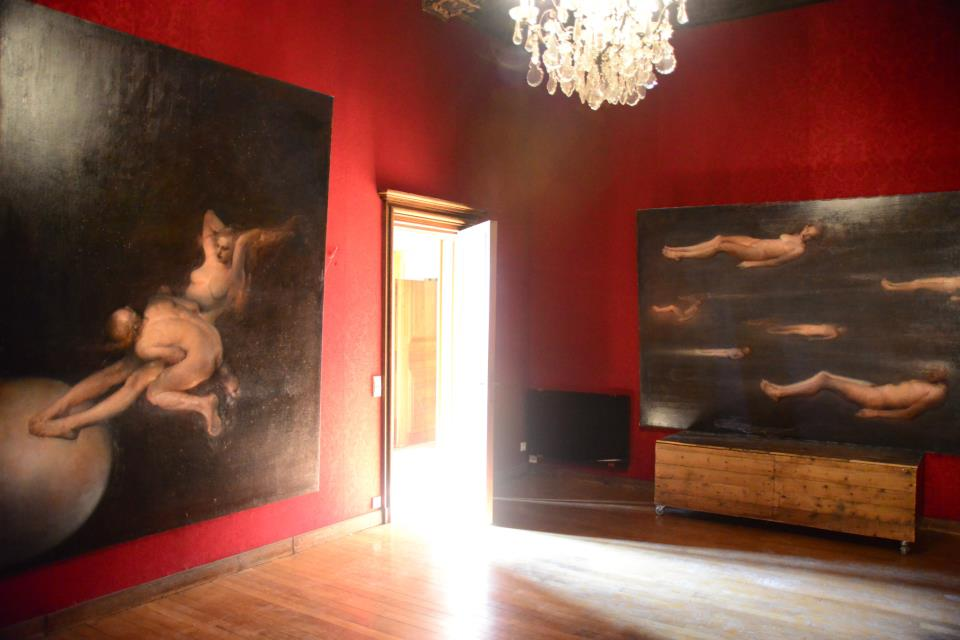 Odd Nerdrum Open House, Maisons-Laffitte, France: dinningroom.jpg