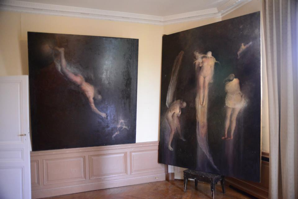 Odd Nerdrum Open House, Maisons-Laffitte, France: master bedroom2.jpg