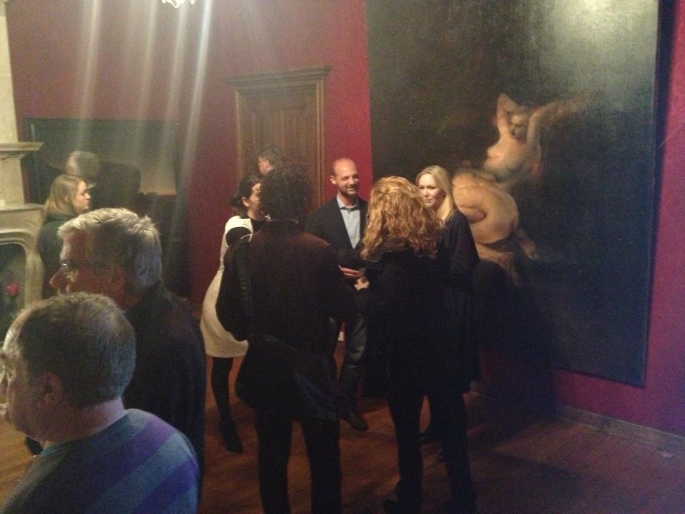 Odd Nerdrum Open House, Maisons-Laffitte, France: opening night.jpg