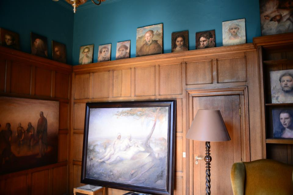 Odd Nerdrum Open House, Maisons-Laffitte, France: sitting room2.jpg