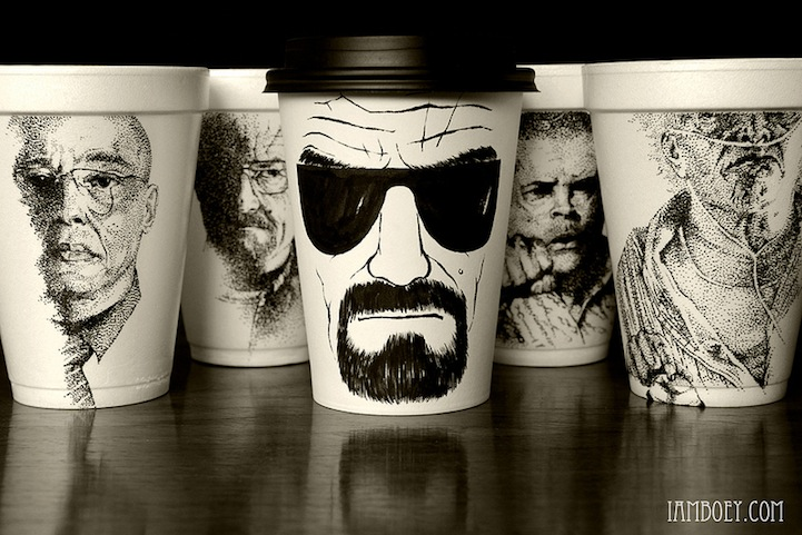 Styrofoam Cup Illustrations by Cheeming Boey: CheemingBoey1.jpg