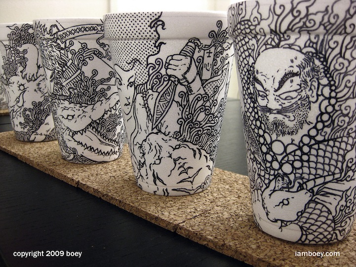 Styrofoam Cup Illustrations by Cheeming Boey: CheemingBoey11.jpg